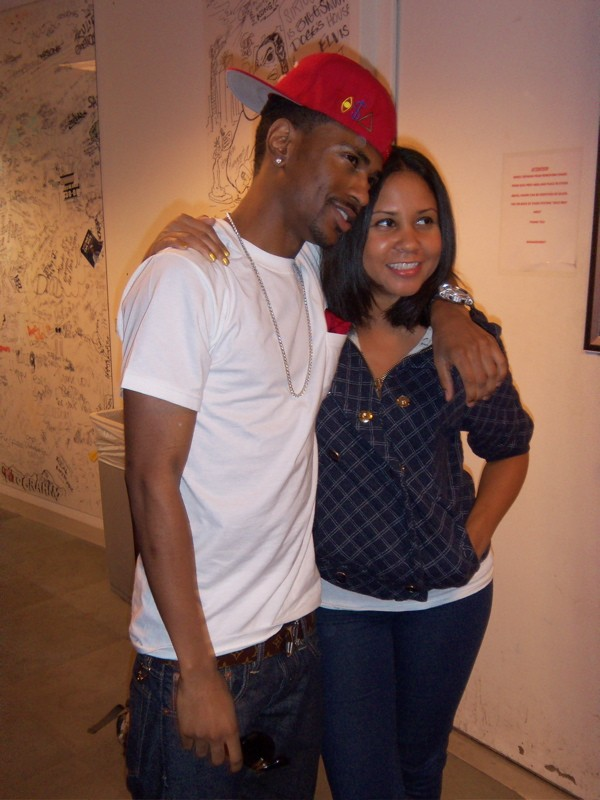 Big Sean and Angela Yee
