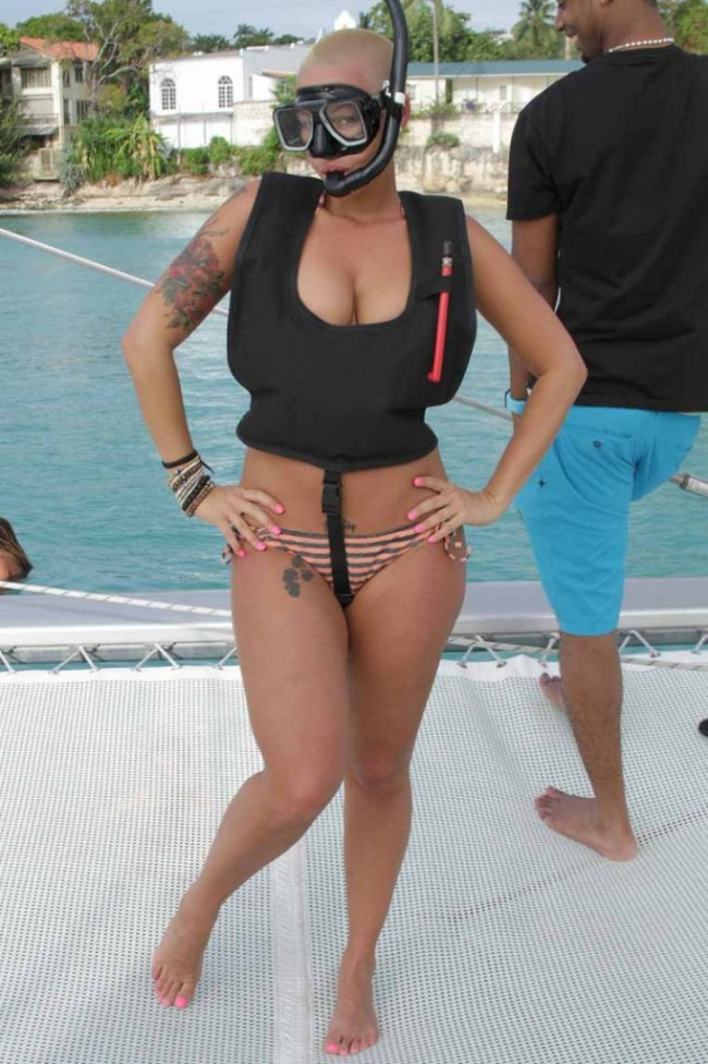 amber rose pregnant by fabolous. Amber Rose