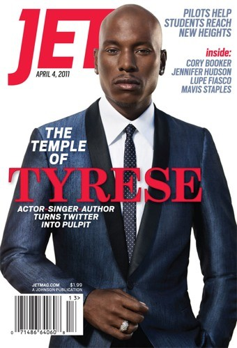 Tyrese cover the April 4th issue of JET Magazine