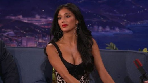 Nicole Scherzinger on Conan O Brien
