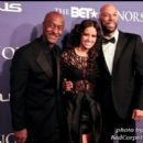 BET President along with BET Personality Rocsi and Singer Common at the 2012 BET Honors