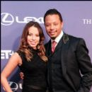 Actor Terrence Howard and Daughter at the 2012 BET Honors