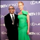 BET Honoree Spike Lee and his Wife Tonya Lee