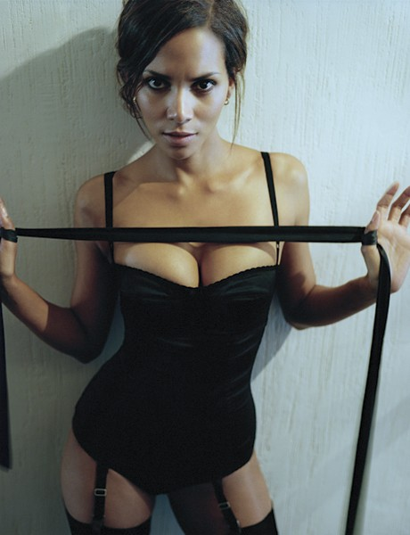 Would you let Halle Berry tie you up?