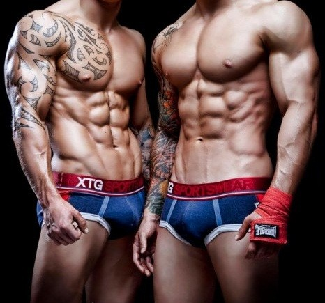 BlackVibes.com :: Twin male models