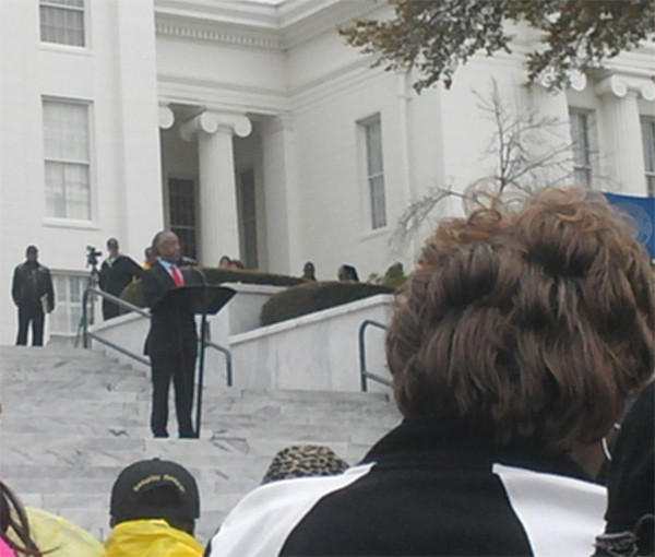 Rev Al Sharpton Speaking