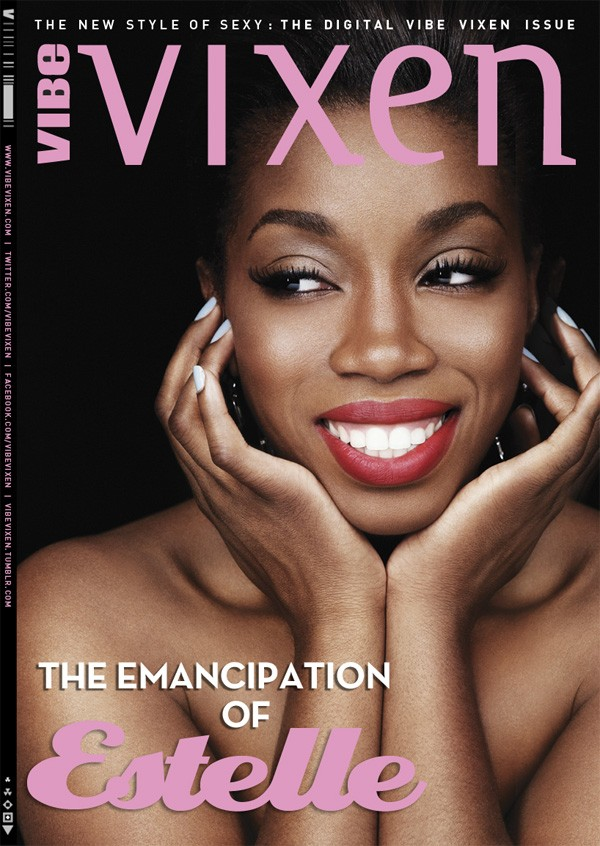 ESTELLE on the Cover of Vibe Vixen