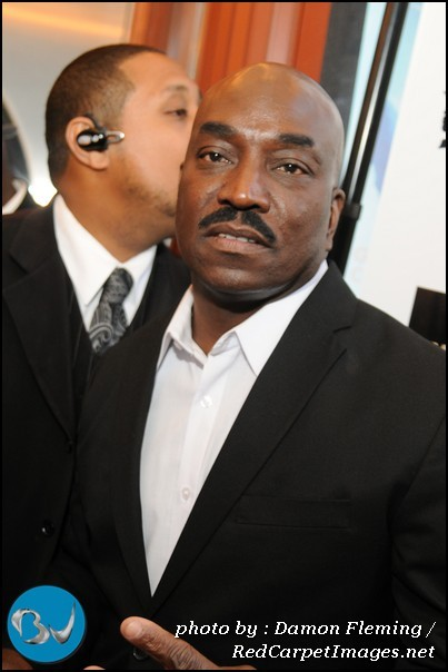 Actor Clifton Powell arrives to the screening