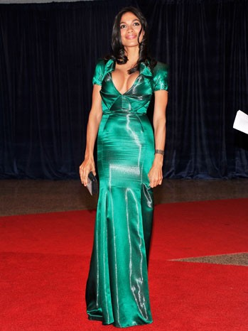 Rosario Dawson at 2012 White House Correspondents  Dinner