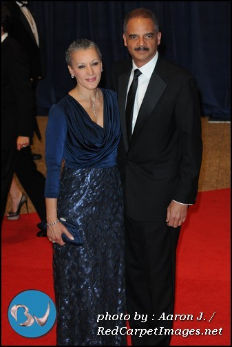 US Atty General Eric Holder and his Wife