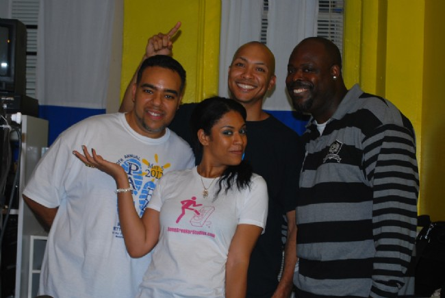 DJ Cisco, Gerald Olivari, Isabel Aurora, Big Dee (9th Anniversary Show)
