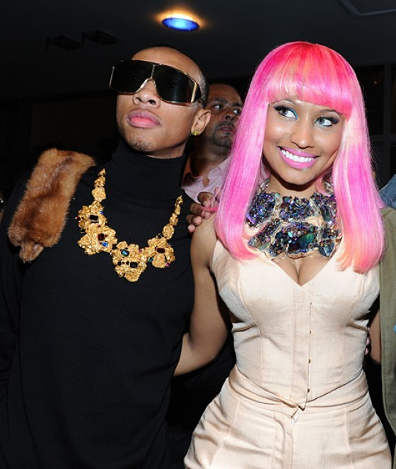 Tyga and Nicki Minaj