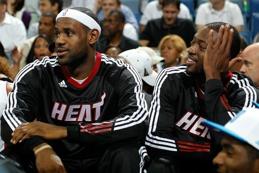 Lebron and Wade