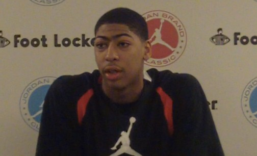 Anthony Davis at Jordan Brand Classic