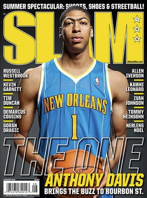 Davis on cover Slam Magazine