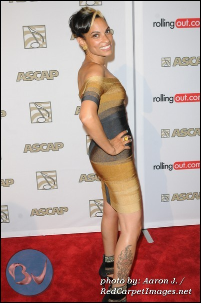 Goapele on the red carpet at the 25th Annual ASCAP Rhythm and Soul Awards