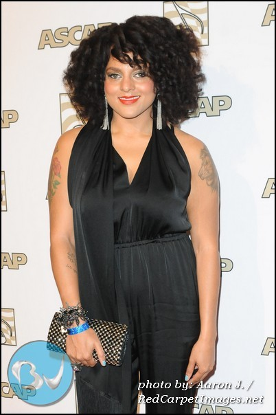 Marsha Ambrosius arrives to the 25th Annual ASCAP Rhythm and Soul Awards