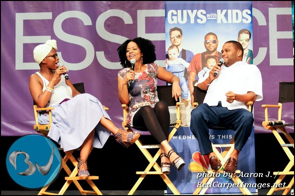 Tempestt Bledsoe and Anthony Anderson talk about their new show  Guys with Kids