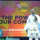 "Iyanla Vanzant speaks to the crowd on the topic of ""Taking Back Our Communities Now"""
