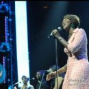 Yolanda Adams performs a tribute to Fred Hammond