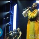 Gospel great Tramaine Hawkins performs a tribute to Mary Mary