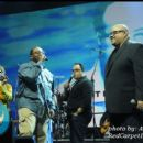 Honoree Fred Hammond with friends including Marvin Sapp, Israel Houghton, and others perform