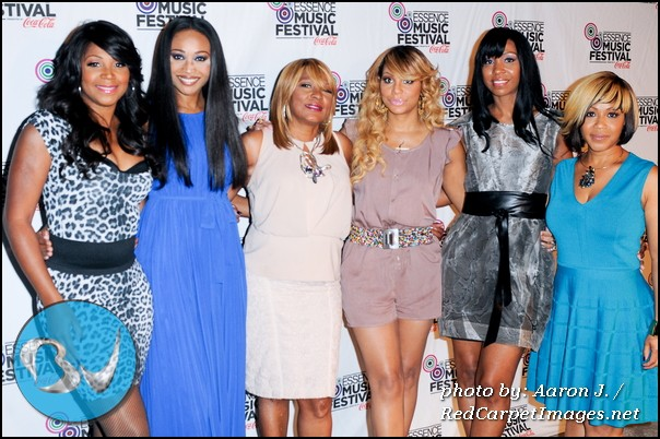 The panelist for the discussion on  Families in the Name of Love  included Tamar and Trina Braxton, Erica Campbell, and others