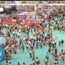A view from above of a portion of the New Orleans Convention Center for the 2012 Essence Music Festival