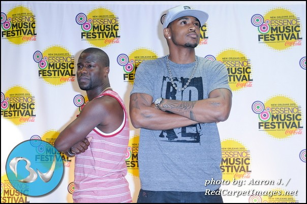 Kevin Hart and Trey Songz