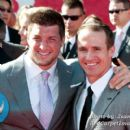 Tim Tebow and Drew Brees