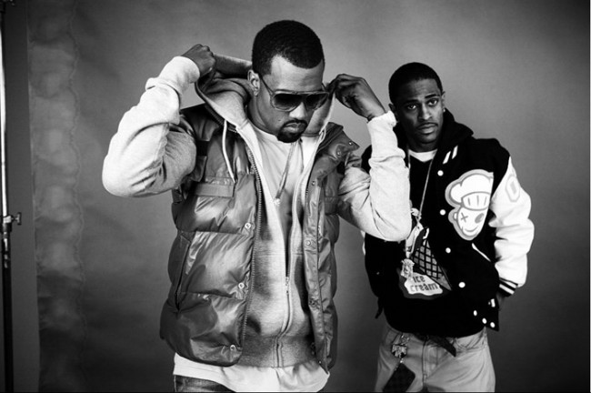 Big Sean and Kanye West