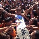 Trey Songz jumped into a crowd of fans in Detroit