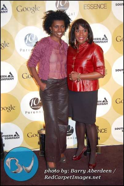 Essence Editor-In-Chief Constance White with US Congresswoman Terri Sewell
