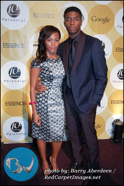 Nicole Beharie and Chadwick Boseman (Actors in the upcoming Jackie Robinson movie  42 )