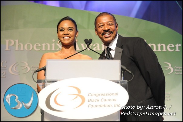 Phoenix Awards Hosts Actress Sharon Leal and Actor/Comedian/Director Robert Townsend