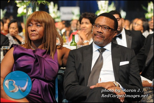 Judge Greg Mathis and his Wife Linda Reese