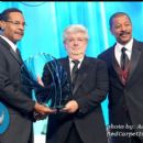 Congressman Emmanuel Cleaver, Honoree George Lucas, and Actor/Director Robert Townsend