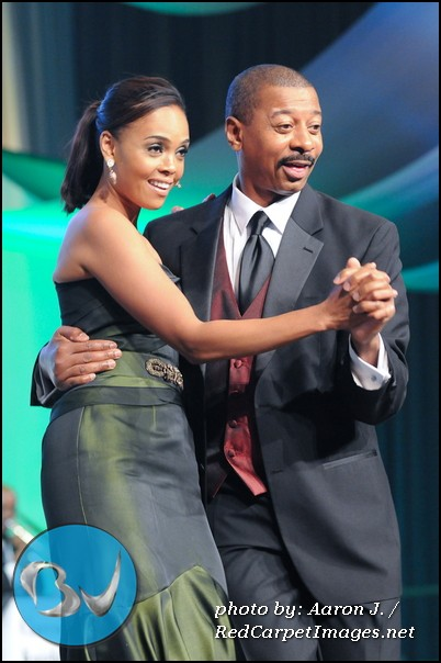 Hosts Sharon Leal and Robert Townsend