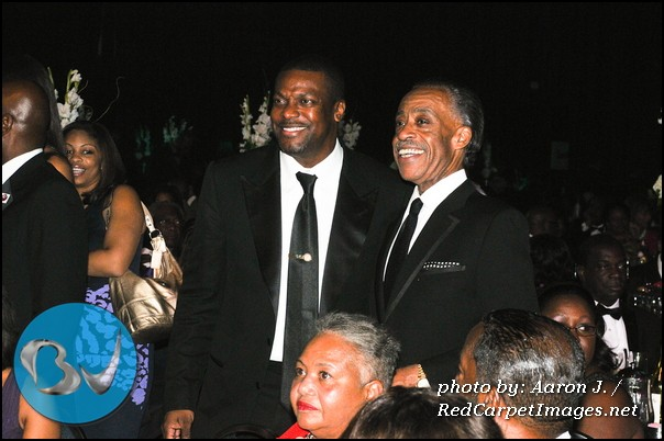 Actor/Comedian Chris Tucker and Rev. Al Sharpton