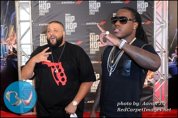 DJ Khaled and Ace Hood
