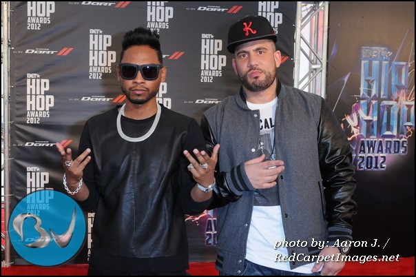 Miguel and DJ Drama