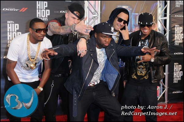 50 Cent, French Montana, Machine Gun Kelly