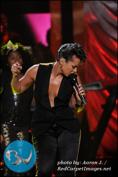 Honoree and Performer Alicia Keys