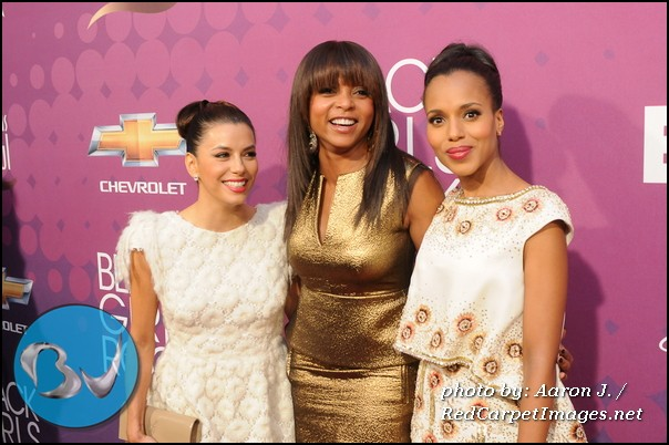 Eva Longoria, Taraji P. Henson, and Kerry Washington