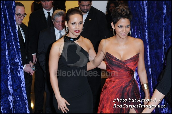 Halle Berry and Alicia Keys
