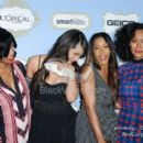 The Girlfriends Cast - Jill Marie Jones, Persia White, Golden Brooks, and Tracee Ellis Ross