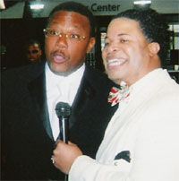 William McCray and Judge Greg Mathis