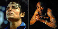 Michael Jackson and Tupac