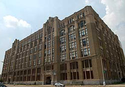 Old Cass Tech Building