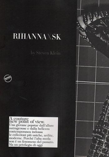Rihanna Vogue Cover - Steven Klein